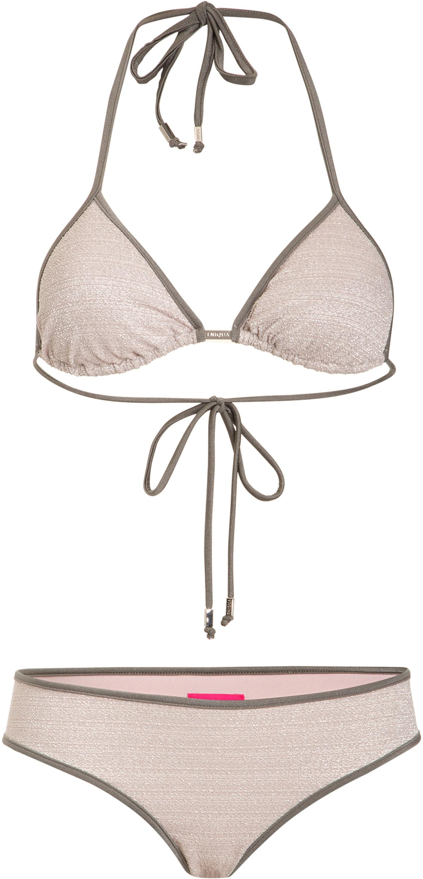 Verwonderend ENIQUA Triangle Bikini PURE ROUGH SILVER SN-43
