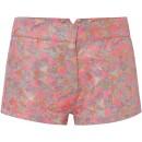 Summer Grid Hot Pants