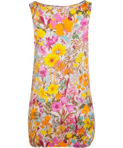 Summer Flowers Beach Dress