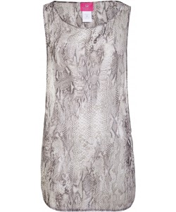 Gray Python Beach dress