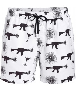 Beachclub Emperor white Men shorts