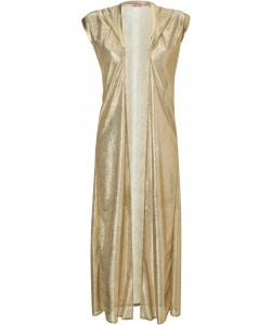 Glam Goddess Gold Robe