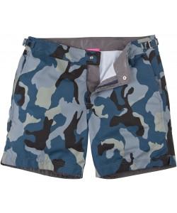 Blue Army Men's Swim w Zip