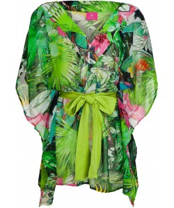 Jungle Cacadoo Square Kaftan