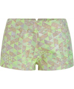Summer Grid Hot Pants