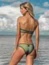 eniqua FLUO NET BALCONETTE   luxury bikini on beach