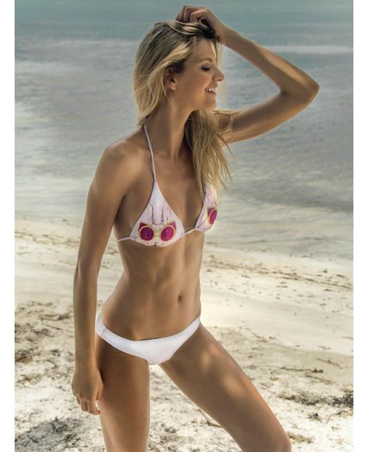 eniqua FUNKY BUNNY TRIANGLE   luxury bikini on beach