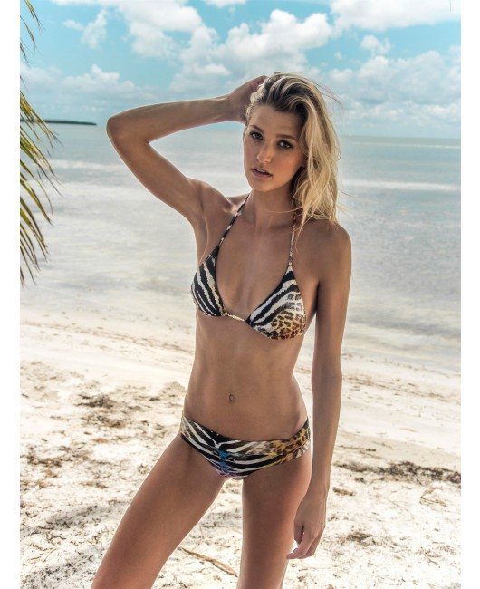 eniqua WILD ETHNO TRIANGLE   glamorous bikini on beach