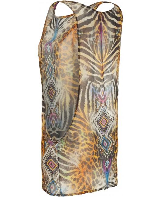 20170018 WILD ETHNO TANK DRESS
