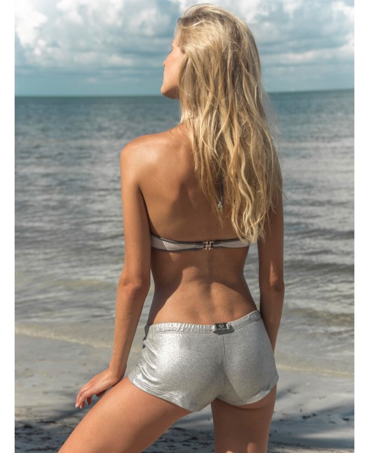 eniqua COZI GOLD HOT PANTS  luxury on beach