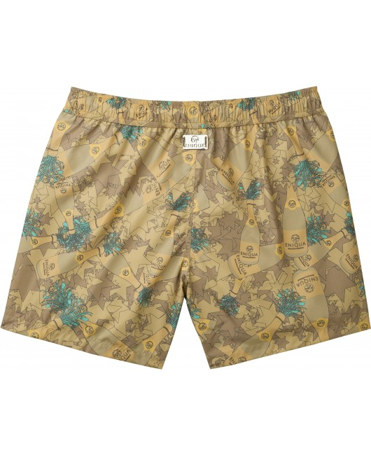 eniqua SPRAY DAY BROWN MAN SWIM   swim shorts