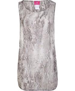 Gray Python Beach dress