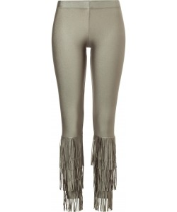 Gypsy Legs Nude Fringes Leggings